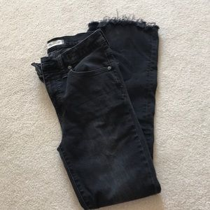 Madewell Bootcut Black Jeans
